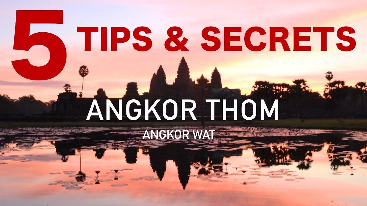 Angkor Thom & Angkor Wat Temple Tips (Plus 1 secret!)