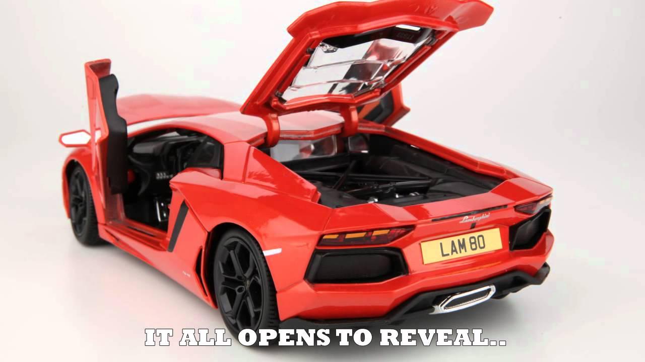 Lamborghini Aventador Lp700 4 Model Car Youtube
