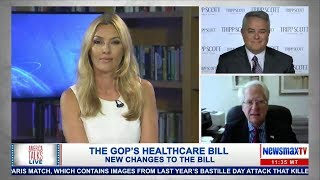 klayman discusses trumps meeting with french president macron and new healthcare legislation
