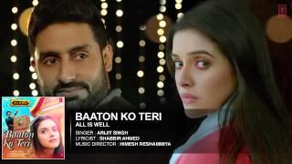 'Baaton Ko Teri' Full AUDIO Song   Arijit Singh   Abhishek Bachchan, Asin   T Series   YouTube thumbnail