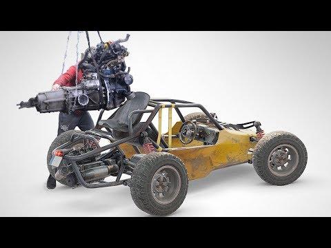Багги из PUBG Установка нового двигателя от Оки своими руками. часть 15