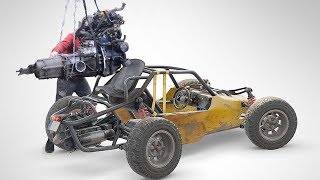 How to make Buggy from PUBG. part 15