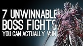 7 Unwinnable Boss Fights You Can Beat If You&#39re Good Enough