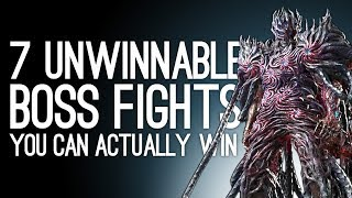 7 Unwinnable Boss Fights You Can Beat If You're Good Enough