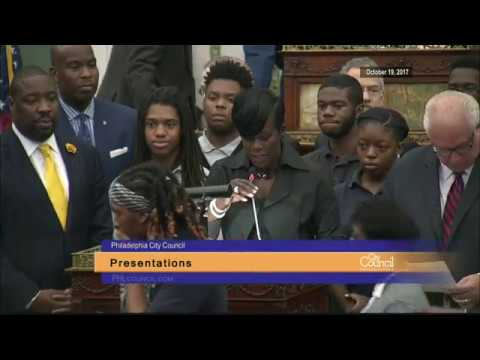 Stated Meeting of Philadelphia City Council 10-19-2017