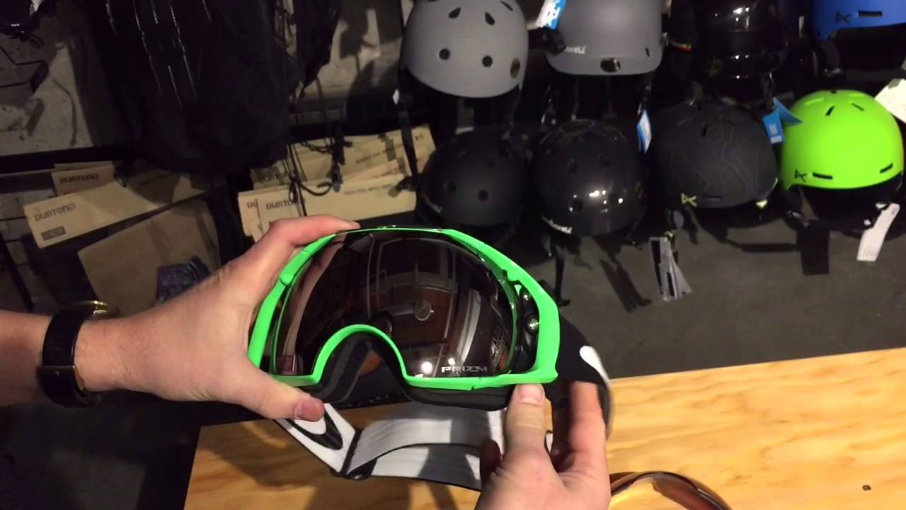 7cd46bb717 HOW TO CHANGE A GOGGLE LENS WITH THE OAKLEY AIRBRAKE SWITCH LOCK -  SOURCEBOARDS.COM - YouTube