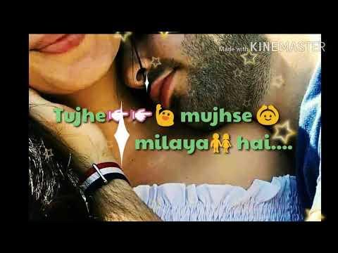 tere-sang-yaara-male-version||love-song-lyrics||whatsapp-status