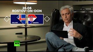 Candidates for TOP-8: Mourinho talks upcoming Iceland v Croatia