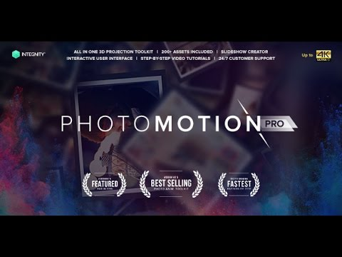 After Effects Template: Photo Motion Pro - Professional 3D Photo Animator  by Тоp After Effects Templates & Projects