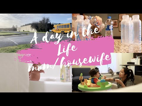 A day in the life (Mom/Housewife-USA)