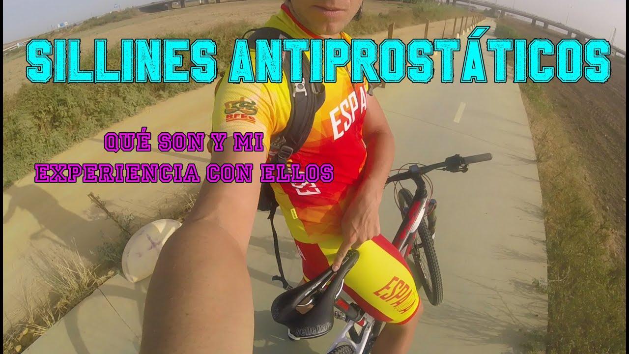 asientos bicicleta para prostata