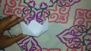 ഒരു പേപ്പർ ബോട്ട് എങ്ങനെ ഉണ്ടാക്കാം|How to make a paper Boat | kids craft work|kids Videos| Kids Fun