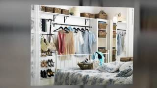 Furniture in fashion tips on Closet, how to store clothes without a closet or dresser, closet alternatives for hanging clothes, #