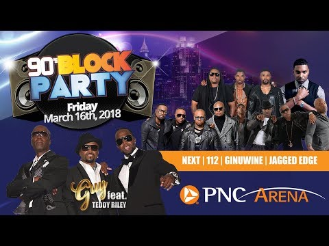 Raleigh 90's Block Party 2017 - March  16th!