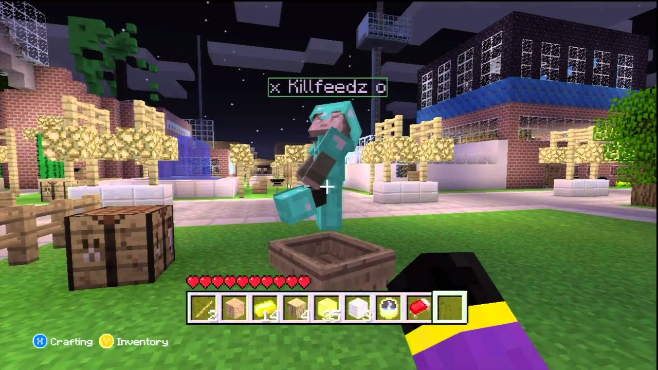 minecraft how to make a invisible potion xbox 360
