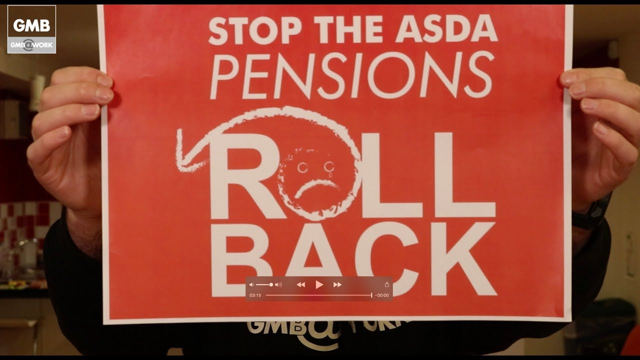 STOP THE ASDA PENSIONS ROLL BACK