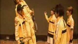 Ookawa Genki Rikkaimyu 2nd backstage