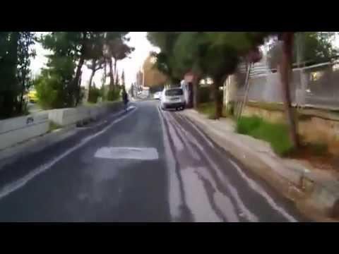 to work with bicycle - Πηγαινοντας στη δουλεια με το ποδηλατο .....