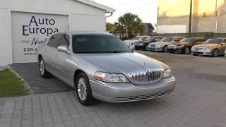 The Last Great American Sedan? This 2011 Lincoln Town Car ended 33 years of the panther platform.