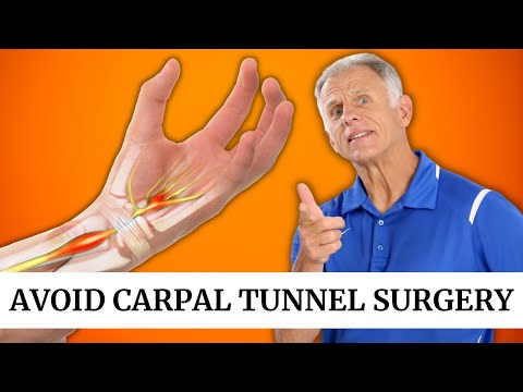 Carpal Tunnel? Avoid Surgery with 3 Step Self-Treatment Program