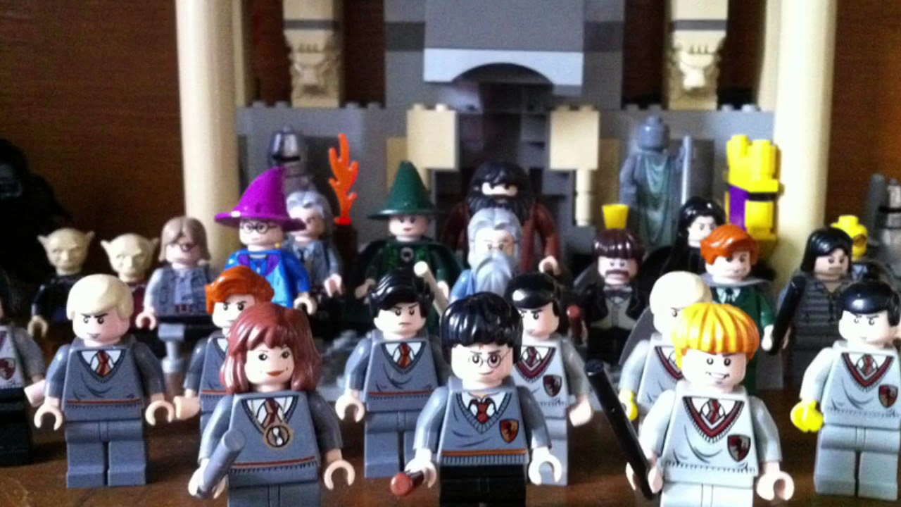 2018 LEGO HARRY POTTER MINIFIG SERIES!!!! AWESOME - YouTube