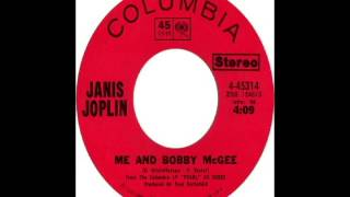 Janis Joplin - Me And Bobby McGee (1971)