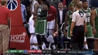 Final 2 minutes of Boston Celtics vs Washington Wizards