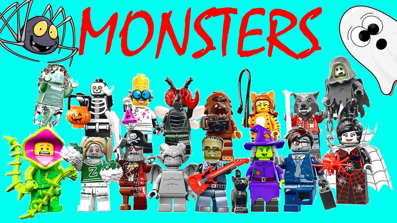 LEGO HALLOWEEN MONSTERS NEW 2015 SURPRISE TOYS Scary Ghost ...
