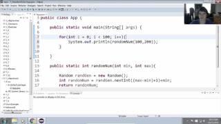 Create a Method to Generate Random Numbers in Java 7 1