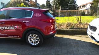 Kia Intelligentes Parksystem  (Smart Parking Assist System, SPAS)