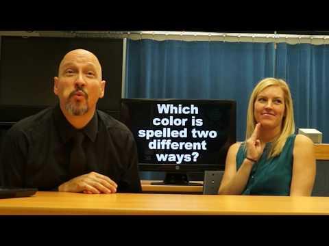 American Sign Language (ASL) Colors