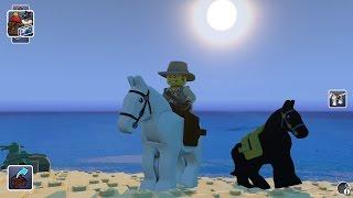 LEGO Worlds - White Horse Free Roam Gameplay (PC HD) [1080p]