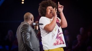 Trevor Francis Vs Lem Knights - 'Soul Man' (Full Video) - The Voice UK 2013
