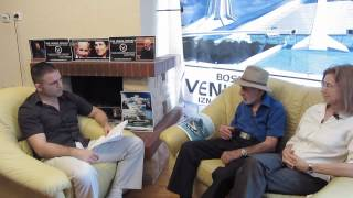 My interview with Jacque Fresco and Roxanne Meadows - Banjaluka, Bosnia, 05. September 2012