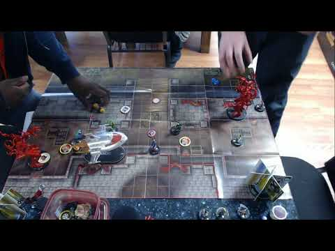 Heroclix Omaha Wizkids Open Top 8 - Winter 2018 - 300 Modern - Devon Adams vs Edward Shelton