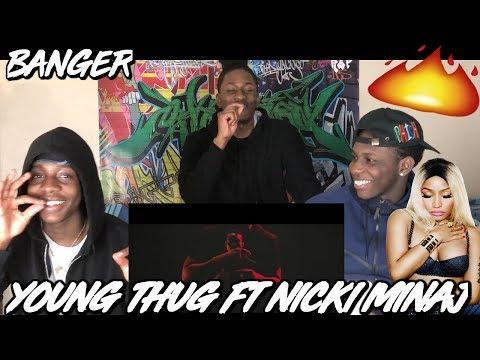 Young Thug - Anybody (ft. Nicki Minaj) [Official Sign Video] - REACTION