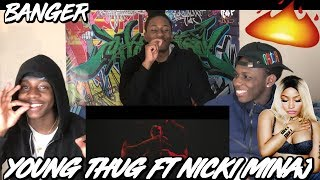 Young Thug - Anybody (ft. Nicki Minaj) [Official Sign Video] - REACTION