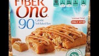 Fiber One: Caramel Sea Salt Bar Food Review