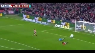 гол  Мунира Атлетик 0 - 1  Барселона(гол Мунира Атлетик 0 - 1 Барселона Подпишитесь на канал.Ставьте лайки-пальцы вверх.Оставляйте свои коммента..., 2016-01-20T20:22:49.000Z)