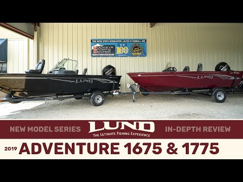 All New 2019 Lund 1675 & 1775 Adventure Series In-Depth.