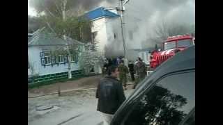 Пожар в Городище