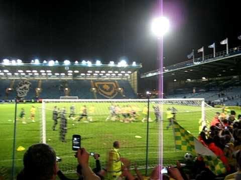 Norwich vs Portsmouth - Promotion Post Game Celebrations