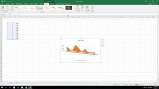 كيفية إنشاء 3D مجال الرسم البياني في إكسل 2016
