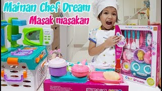 Unboxing Mainan Anak Masak-Masakan Chef Dream Hadiah Giveawa...