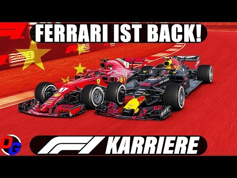 F1 2018 KARRIERE S03E03 – Shanghai, China GP | Let's Play Formel 1 Deutsch Gameplay German