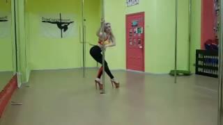 Alyona Klukva. Exotic pole dance improvisation