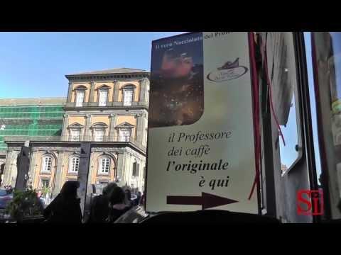 Napoli - Il miglior caffe' del mondo a Roma? I maestri napoletani rispondono... (15.05.13)