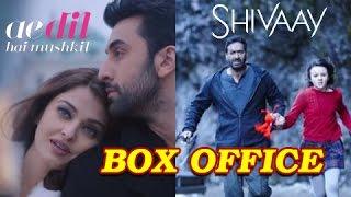 Ae dil hai mushkil beats shivaay, crosses 50 cr | box office report