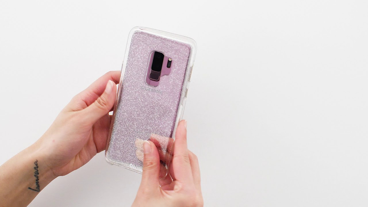 Case Mate Sheer Crystal For Samsung Galaxy S9 Clear Youtube Shining Xiaomi Redmi 3