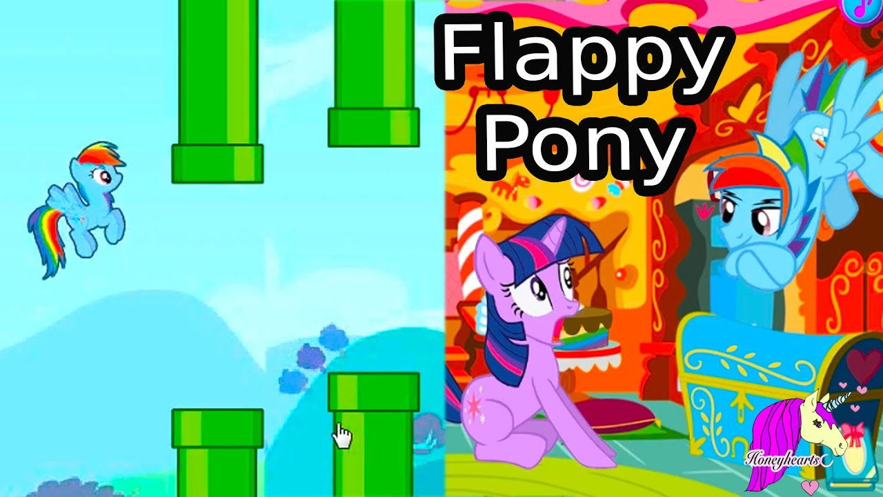 My Little Rainbow Dash Flappy Pony Horse Racing Let S